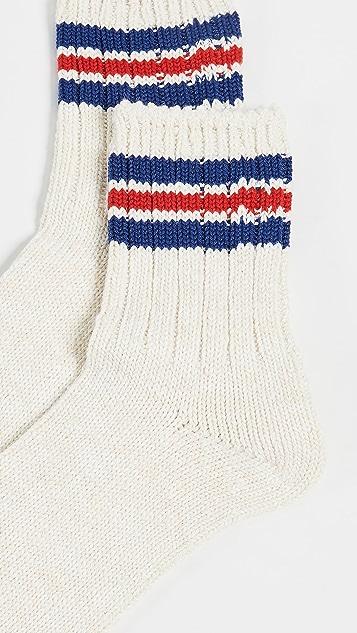 Anonymous Ism 3-Line Slub Quarter Socks