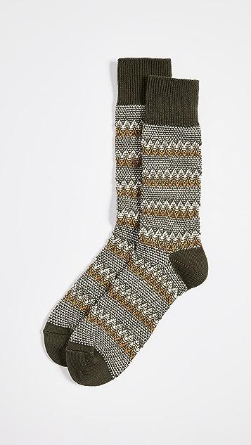 Anonymous Ism Zigzag Links Crew Socks