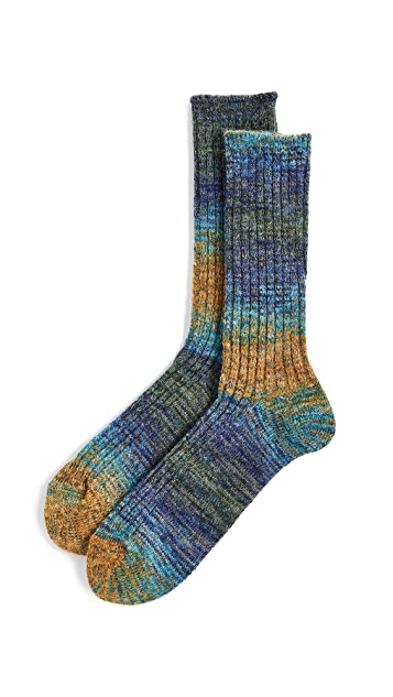Anonymous Ism Go Hemp Splash Crew Socks
