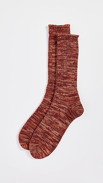 Anonymous Ism 5-Color Mix Crew Socks