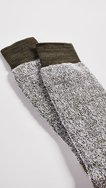 Anonymous Ism Textured 3-Layer Crew Socks