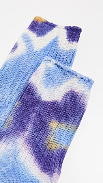 Anonymous Ism Tie Dye Crew Socks