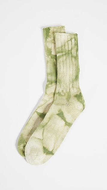 Anonymous Ism Uneven Dye Crew Socks