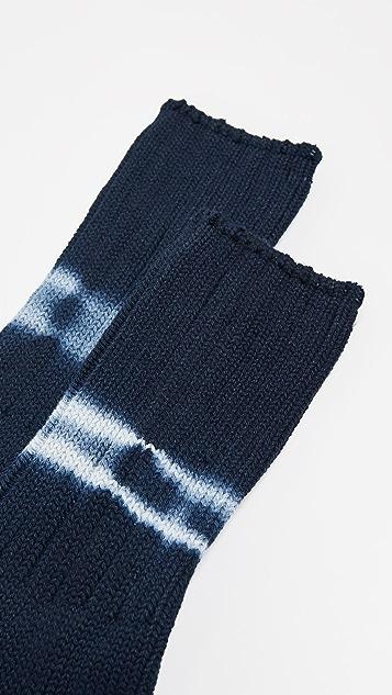 Anonymous Ism Shibori Dye Crew Socks