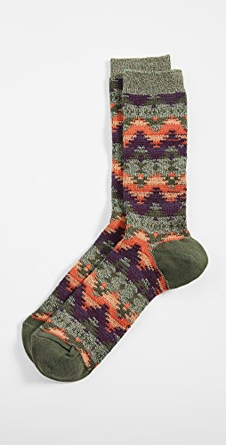 Anonymous Ism - Wigwam Jacquard Crew Socks