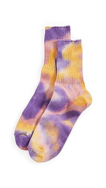 Anonymous Ism Tie Dye 3Q Socks
