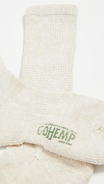 Anonymous Ism Go Hemp Military Pile Crew Socks