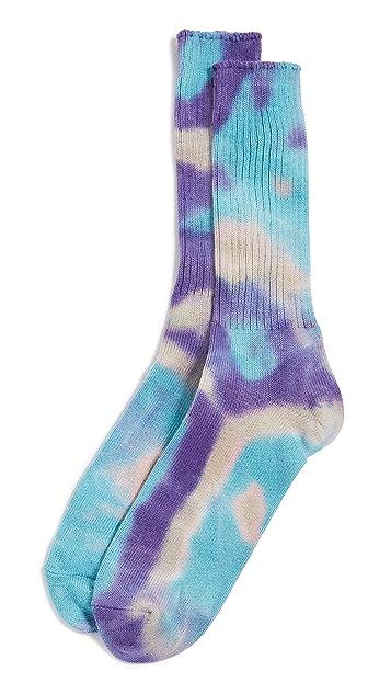 Anonymous Ism Tie Dye Crew Socks