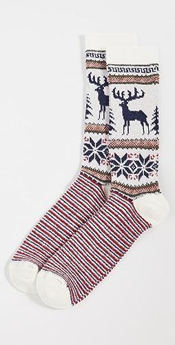 Anonymous Ism - Wool Deer Snow Crew Socks