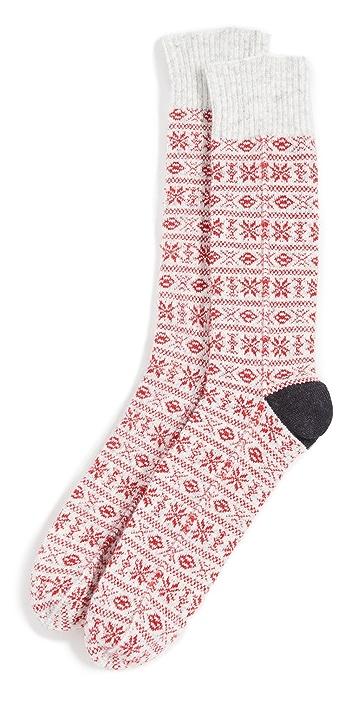 Anonymous Ism WG Pattern Crew Socks