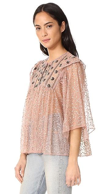 Antik Batik Pati Embroidered Blouse