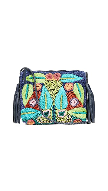 Antik Batik Lila Cross Body Bag
