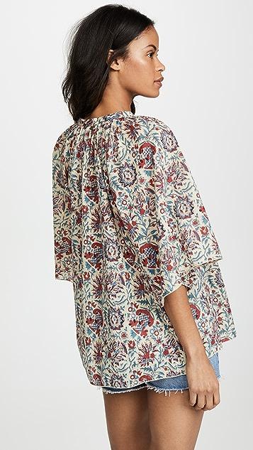 Antik Batik Betsie Button Down Blouse