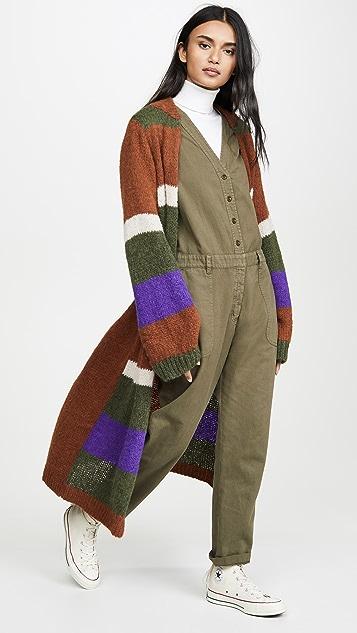 Antik Batik Gina 羊驼毛开襟衫