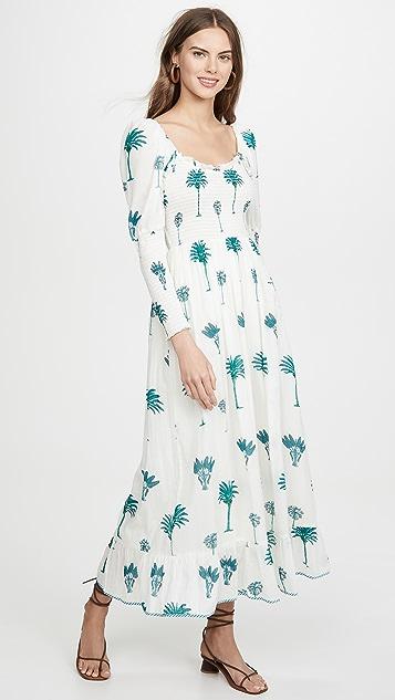 Antik Batik Palmy 连衣裙