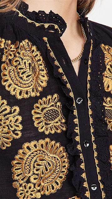 Antik Batik Toggy 女式衬衫