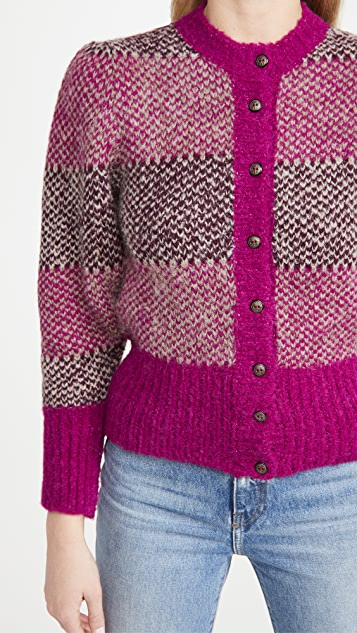 Antik Batik Arthur 羊驼毛系扣衫