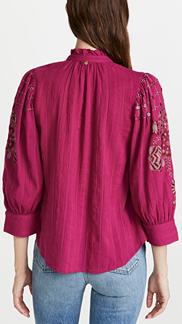 Antik Batik 吊带女式衬衫