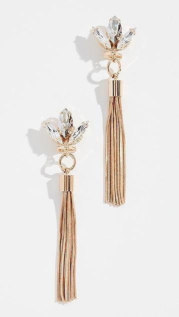 Anton Heunis Tulip Tassel Earrings