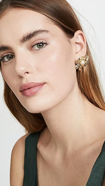 Anton Heunis Flower Stud Earrings
