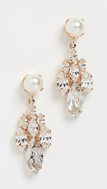 Anton Heunis Imitation Pearl Charm Earrings