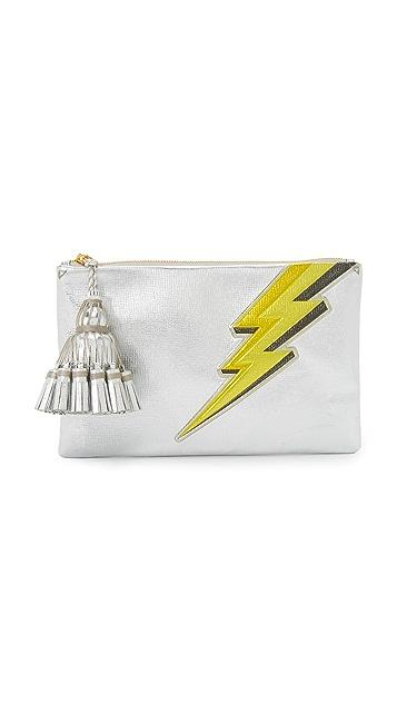 Anya Hindmarch Lightning Bolt Georgiana Clutch
