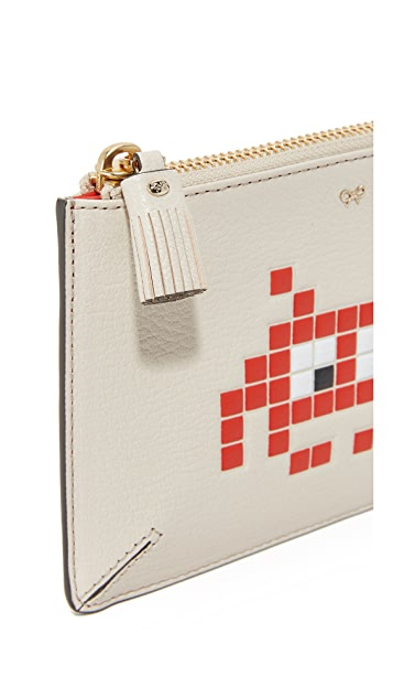 Anya Hindmarch Space Invader Loose Pocket Pouch