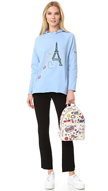 Anya Hindmarch Allover Wink Stickers Backpack