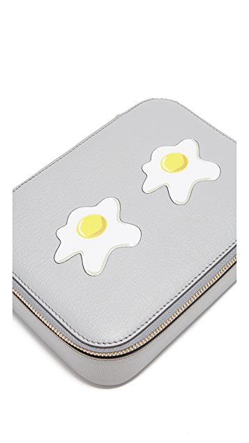 Anya Hindmarch Keepsake Large Pouch with Eggs