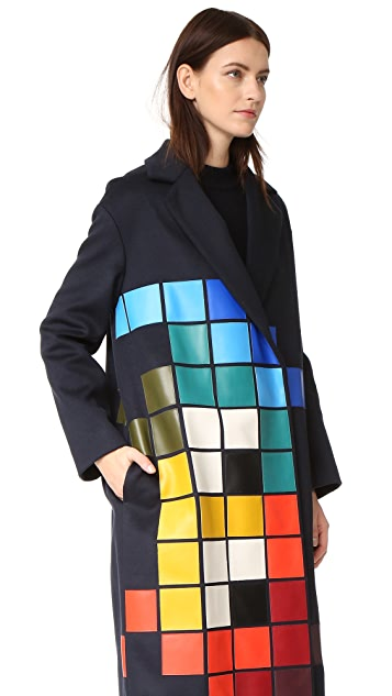 Anya Hindmarch Oversized Space Invaders Coat