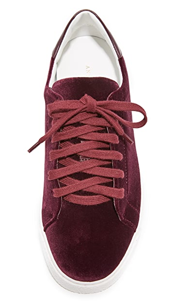 Anya Hindmarch Tennis Shoe Wink Sneakers