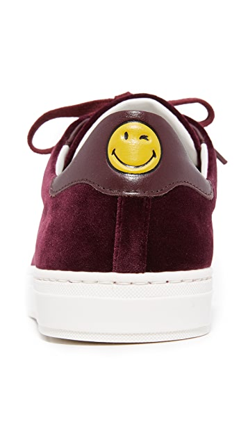 Anya Hindmarch Tennis Shoe Wink Sneakers