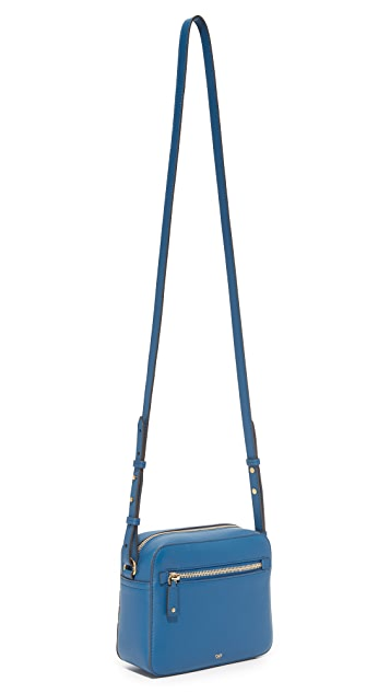 Anya Hindmarch Silver Cloud Cross Body Bag