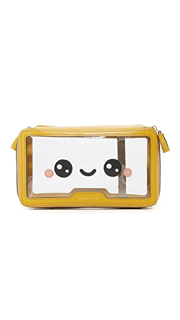 Anya Hindmarch Inflight Kawaii Happy Pouch