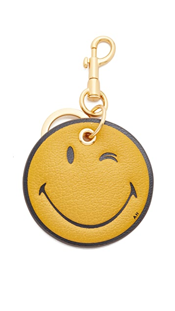 Anya Hindmarch Printed Wink Key Ring