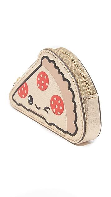 Anya Hindmarch Pizza Coin Purse Key Ring