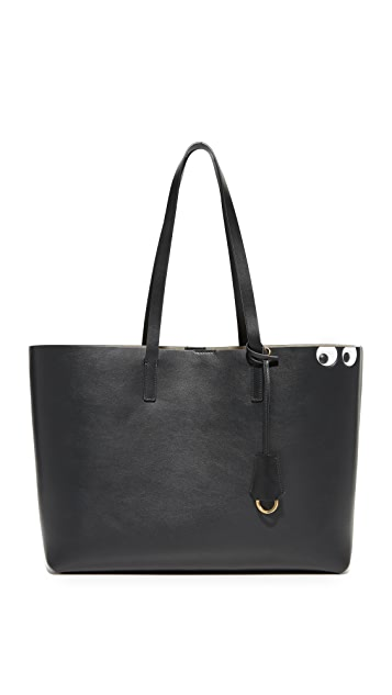Anya Hindmarch Circus Eyes Shopper Tote