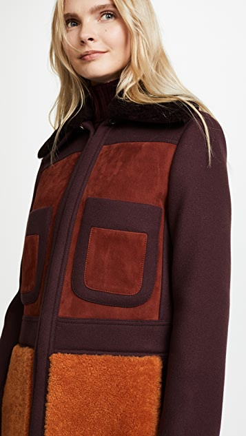 Anya Hindmarch Long '70s Coat