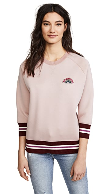 Anya Hindmarch Rainbow Patch Sweatshirt