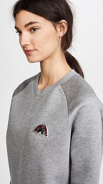Anya Hindmarch Rainbow Patch Sweatshirt