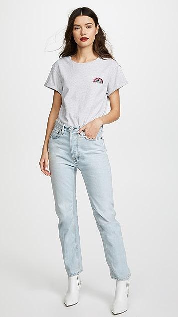 Anya Hindmarch Diamante Rainbow T-Shirt