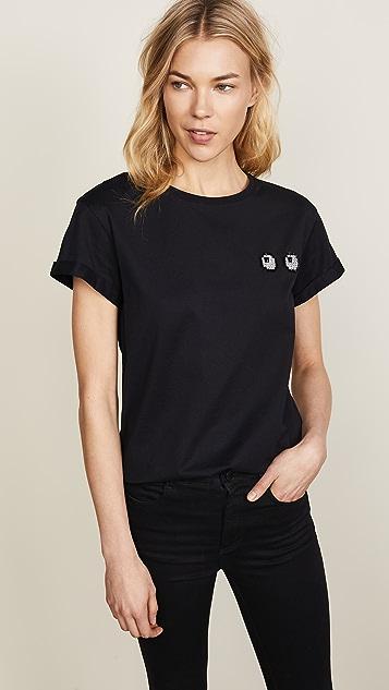 Anya Hindmarch Diamante Eyes T-Shirt
