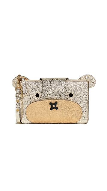 Anya Hindmarch Bear Cross Body Pouch