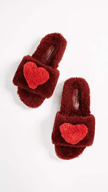 Anya Hindmarch Heart Slides