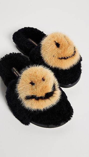 Anya Hindmarch Smiley Slides