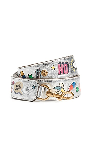 Anya Hindmarch Allover Wink Shoulder Strap