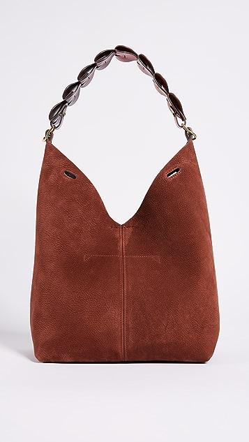 Anya Hindmarch Bucket Bag with Small Hearts