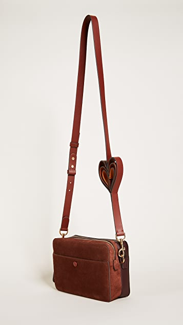 Anya Hindmarch Heart Cross Body Bag
