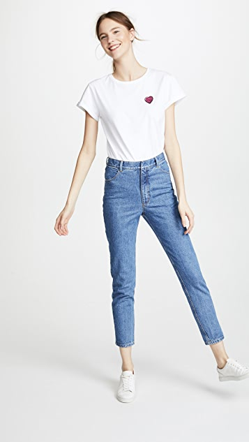 Anya Hindmarch Heart T-Shirt