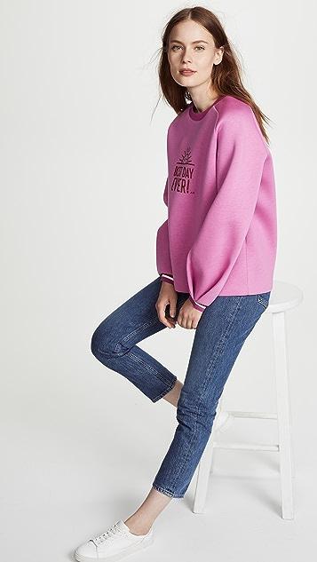 Anya Hindmarch Best Day Ever Sweatshirt